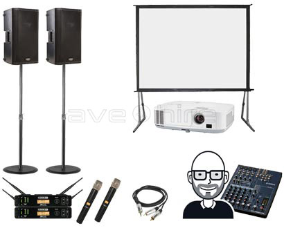 conference pack hire