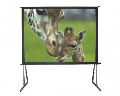 large projector screen hire