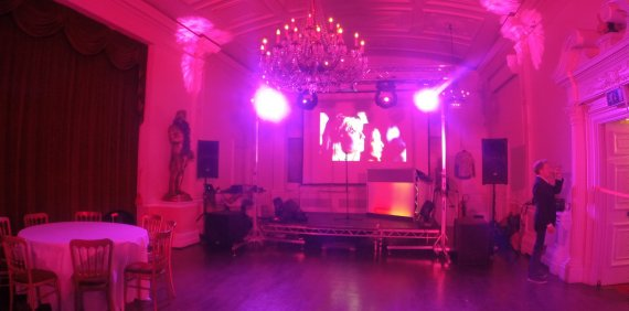 Party at Trafalgar Tavern with AVE Hire